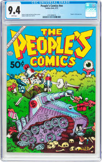 The People's Comics #nn (Golden Gate, 1972) CGC NM 9.4 White pages