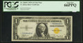 Small Size:World War II Emergency Notes, Fr. 2306* $1 1935A North Africa Silver Certificate. PCGS Gem New66PPQ.. ...
