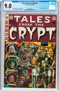 Tales From the Crypt #33 (EC, 1952) CGC VF/NM 9.0 Off-white to white pages