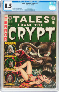 Tales From the Crypt #32 (EC, 1952) CGC VF+ 8.5 Cream to off-white pages