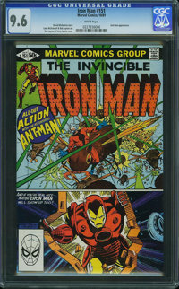 Iron Man #151 (Marvel, 1981) CGC NM+ 9.6 White pages