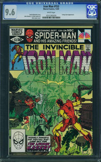 Iron Man #153 (Marvel, 1981) CGC NM+ 9.6 White pages