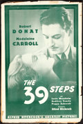 """Movie Posters:Hitchcock, The 39 Steps (G.B., R-1938). Uncut Pressbook (12 Pages, 12"""" X 18""""). Hitchcock.. ..."""