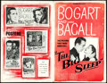 "Movie Posters:Film Noir, The Big Sleep (Warner Brothers, 1946). Uncut Pressbook (16 Pages,11"" X 17"").. ..."