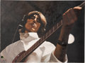 Music Memorabilia:Original Art, Beatles - Harrison Studio 3 Original Oil Painting by EricCash....