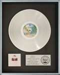 Music Memorabilia:Awards, Doobie Brothers Takin' It To The Streets RIAA Gold RecordAward (WB Records BS 2899, 1976)....