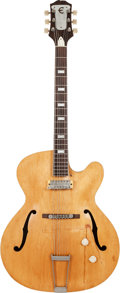 Musical Instruments:Electric Guitars, 1953 Natural Epiphone Zephyr Regent Electric Guitar, #65856,...