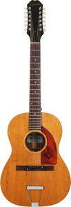 Musical Instruments:Acoustic Guitars, 1966 Epiphone FT-85 Serenader Natural 12 String Acoustic Guitar,Serial # 508048....