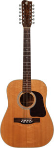 Musical Instruments:Acoustic Guitars, 1968 J.W. Gallagher & Sons Natural Custom 12 String Acoustic Guitar, Serial # 68075....