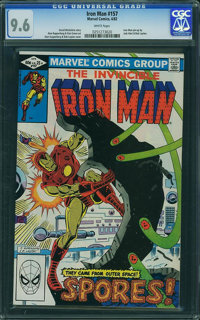 Iron Man #157 (Marvel, 1982) CGC NM+ 9.6 White pages
