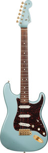 Musical Instruments:Electric Guitars, 1996 Fender Custom Shop Limited Edition Stratocaster Teal Metallic Solid Body Electric Guitar, Serial # 29 of 30. ...