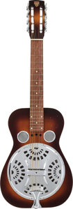 Musical Instruments:Resonator Guitars, 1990's Dobro 8-String Sunburst Resonator Guitar, Serial # 322690D....