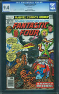 Bronze Age (1970-1979):Superhero, Fantastic Four #188 (Marvel, 1977) CGC NM 9.4 White pages.