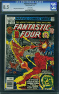 Bronze Age (1970-1979):Superhero, Fantastic Four #189 - WESTPORT COLLECTION VOL 2 (Marvel, 1977) CGC VF+ 8.5 White pages.