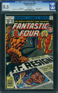Bronze Age (1970-1979):Superhero, Fantastic Four #191 - WESTPORT COLLECTION VOL 2 (Marvel, 1978) CGC VF+ 8.5 White pages.