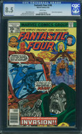 Bronze Age (1970-1979):Superhero, Fantastic Four #198 - WESTPORT COLLECTION (Marvel, 1978) CGC VF+ 8.5 White pages.