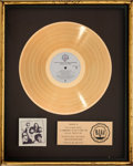 Music Memorabilia:Awards, Doobie Brothers Minute By Minute RIAA Gold Record Award AndGrammy Display (Warner Bros. BSK 3193), 1978).... (Total: 2 )