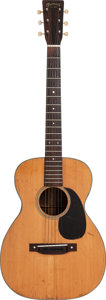 Musical Instruments:Acoustic Guitars, 1944 Martin 0-18 Natural Acoustic Guitar, Serial # 87195....