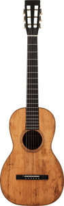 Musical Instruments:Acoustic Guitars, 1850's Martin 2 1/2-17 Natural Acoustic Guitar....