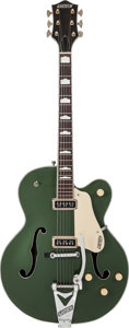 Musical Instruments:Electric Guitars, 1955 Gretsch Country Club Cadillac Green Semi-Hollow Body ElectricGuitar, Serial # 32704....