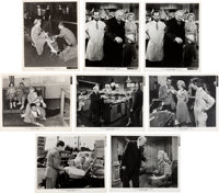"""A Marilyn Monroe Group of Black and White Publicity Photographs from """"Monkey Business"""" and """"Niagara""""..."""