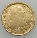 Colombia, Colombia: Charles III gold 2 Escudos 1786 P-SF About VF,...