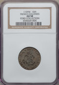 French Colonies, French Colonies: Louis XV Sou Marque 1739-W AU58 NGC,...