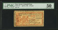 Colonial Notes:New Jersey, New Jersey April 8, 1762 £6 PMG About Uncirculated 50.. ...
