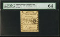 Colonial Notes:Massachusetts, Massachusetts 1779 3s 6d PMG Choice Uncirculated 64.. ...