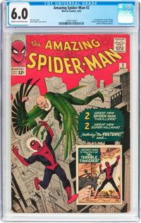 The Amazing Spider-Man #2 (Marvel, 1963) CGC FN 6.0 Cream to off-white pages