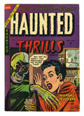 Golden Age (1938-1955):Horror, Haunted Thrills #17 (Farrell, 1954) Condition: FN+. Overstreet 2005FN 6.0 value = $63; VF 8.0 value = $121....