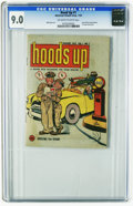 Golden Age (1938-1955):Miscellaneous, Hoods Up #1 (American Visuals Corp., 1953) CGC VF/NM 9.0 Off-white to white pages. Fram Filters promotional mini-comic book,...