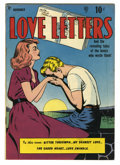 Golden Age (1938-1955):Romance, Love Letters #1 (Quality, 1949) Condition: FN. Bill Ward cover.Paul Gustavson art. Overstreet 2005 FN 6.0 value = $75....