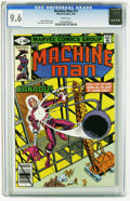 Modern Age (1980-Present):Science Fiction, Machine Man #13 (Marvel, 1980) CGC NM+ 9.6 White pages. Steve Ditkocover and art. Overstreet 2005 NM- 9.2 value = $5. CGC c...