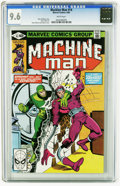 Modern Age (1980-Present):Science Fiction, Machine Man #14 (Marvel, 1980) CGC NM+ 9.6 White pages. Steve Ditko and John Byrne cover. Ditko art. Overstreet 2005 NM- 9.2...