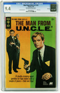 Silver Age (1956-1969):Adventure, Man from U.N.C.L.E. #12 File Copy (Gold Key, 1967) CGC NM 9.4 Off-white to white pages. Mike Sekowsky art. Photo cover. Over...