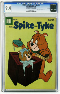 M.G.M's Spike and Tyke #23 File Copy (Dell, 1960) CGC NM 9.4 Off-white to white pages. Tom and Jerry back-up story. Over...