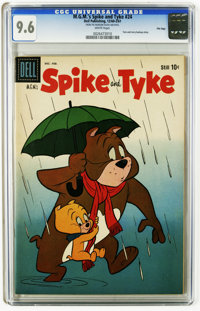 M.G.M's Spike and Tyke #24 File Copy (Dell, 1961) CGC NM+ 9.6 White pages. Tom and Jerry back-up story. Overstreet 2005...