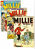 Silver Age (1956-1969):Romance, Millie the Model Group (Marvel, 1946-68) Condition: Average VG/FN.Tales of the Blonde Bombshell are included in this lot, w...(Total: 18 Comic Books)