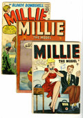 Silver Age (1956-1969):Romance, Millie the Model Group (Marvel, 1946-73) Condition: Average GD.Three decades of the Blonde Bombshell. Includes MIllie the...(Total: 36 Comic Books)