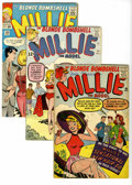 Silver Age (1956-1969):Romance, Millie the Model Group (Marvel, 1960-71) Condition: Average VG.Features Millie the Model #98, 111, 125, 129, 130, 134, ... (Total:27 Comic Books)