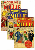 Silver Age (1956-1969):Romance, Millie the Model Group (Marvel, 1961-70). Features Life With Millie#14, 17, and 18 (average GD); Mad About Millie #... (Total: 18Comic Books)