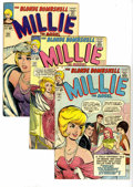 Silver Age (1956-1969):Romance, Millie the Model Group (Marvel, 1964-73) Condition: Average FN+.Features Millie the Model #126, 127, 132, 140, 142, 145... (Total:20 Comic Books)