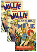 Silver Age (1956-1969):Romance, Millie the Model Group (Marvel, 1965-66) Condition: Average VF/NM.Includes Modelling WIth Millie #49 and four copies of... (Total: 5Comic Books)