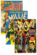 Silver Age (1956-1969):Romance, Millie the Model Group (Marvel, 1966-71) Condition: Average VF+. Features Millie the Model #144,148, 165, and 192; and