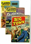 Golden Age (1938-1955):Miscellaneous, Miscellaneous Golden Age Group (Various Publishers, 1945-52) Condition: Average GD/VG. This group contains Big Town #5, ... (Total: 10 Comic Books)