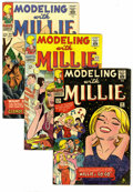 Silver Age (1956-1969):Romance, Modeling with Millie Group (Marvel, 1966). Includes #45 (VF/NM), 46(NM-), 49 (VF), and 52 (FN+). Approximate Overstreet val... (Total:4 Comic Books)