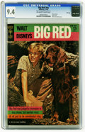 Silver Age (1956-1969):Miscellaneous, Movie Comics: Big Red -- File Copy (Gold Key, 1962) CGC NM 9.4Off-white to white pages. Front and back photo covers. Overst...