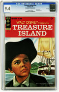 Silver Age (1956-1969):Adventure, Movie Comics: Treasure Island -- File Copy (Gold Key, 1967) CGC NM 9.4 Off-white to white pages. Partial photo cover. Overst...
