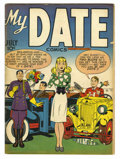 Golden Age (1938-1955):Romance, My Date Comics #1 (Hillman Publications, 1947) Condition: FN. Simon& Kirby cover and art. Overstreet 2005 FN 6.0 value = $1...
